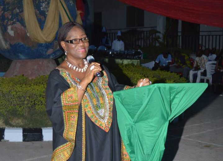 Carol Ndaguba, NAPTIP head, 2003–2009. [Photo Credit: NAPTIP]
