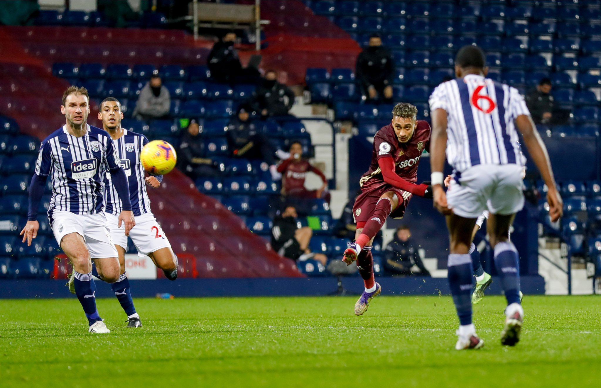 Leeds United against West Brom [PHOTO CREDIT: @LUFC]