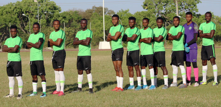 Flying Eagles during a training