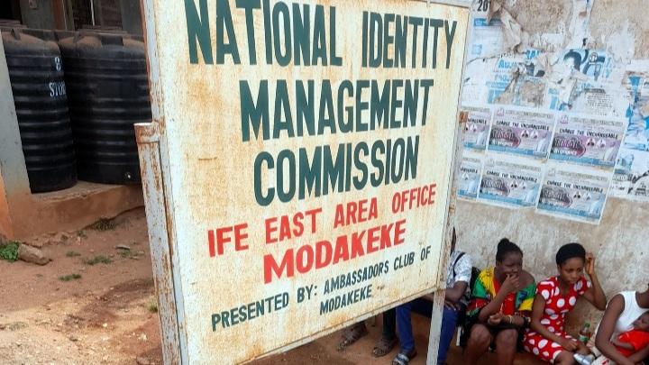 NIMC centre in Modakeke