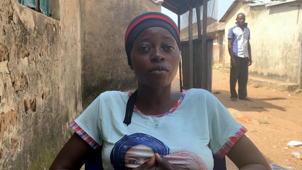 Ladidi Kasim, a mother of four residing in Wolumo community.