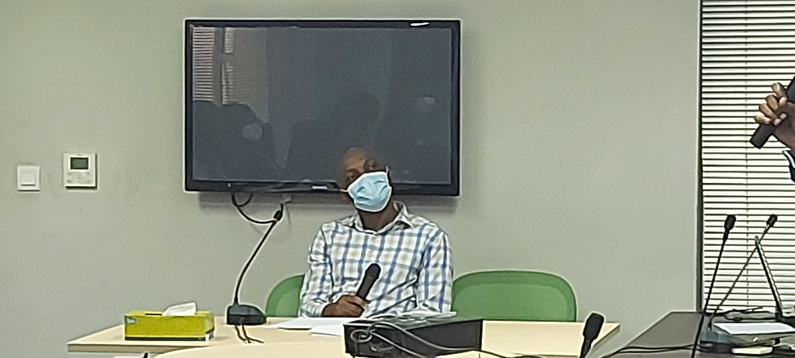 Babajide Lawson, testifying before Judicial Panel of Inquiry