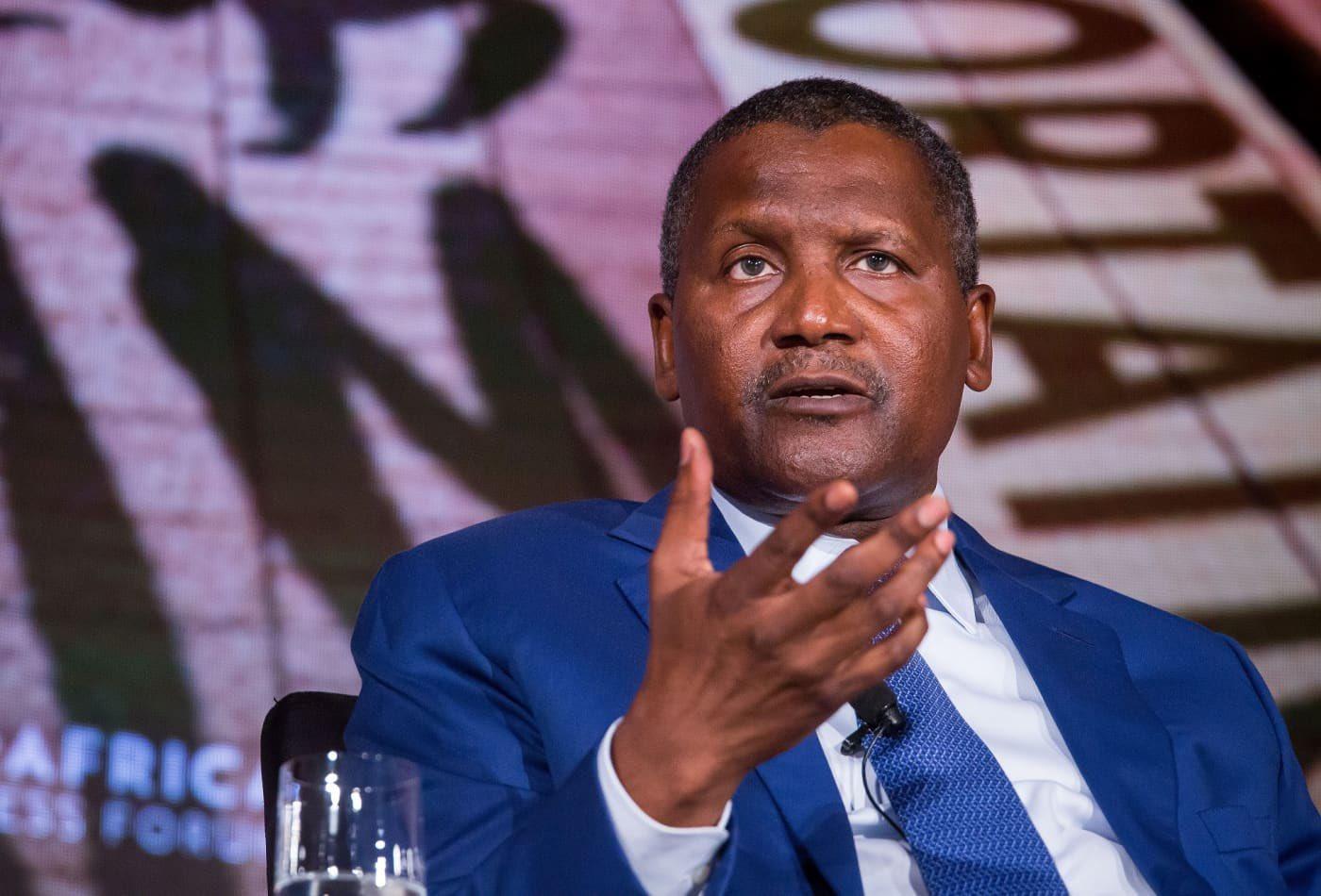 Africa's richest man, Alike Dangote