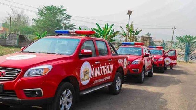 Oyo Ametokun security vans