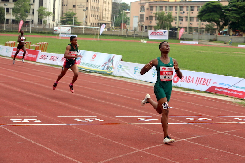 Blessing Oladoye wins 400m B FInal at 1st MoC Grand Prix