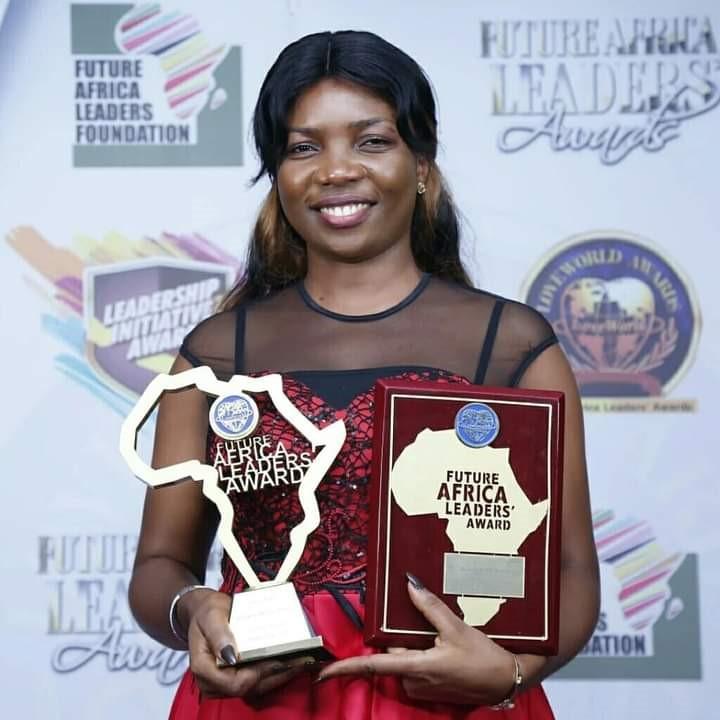 Eweni receives FALA award in 2019 in Nigeria