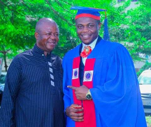Emmanuel Akuma, a pharmacist and father