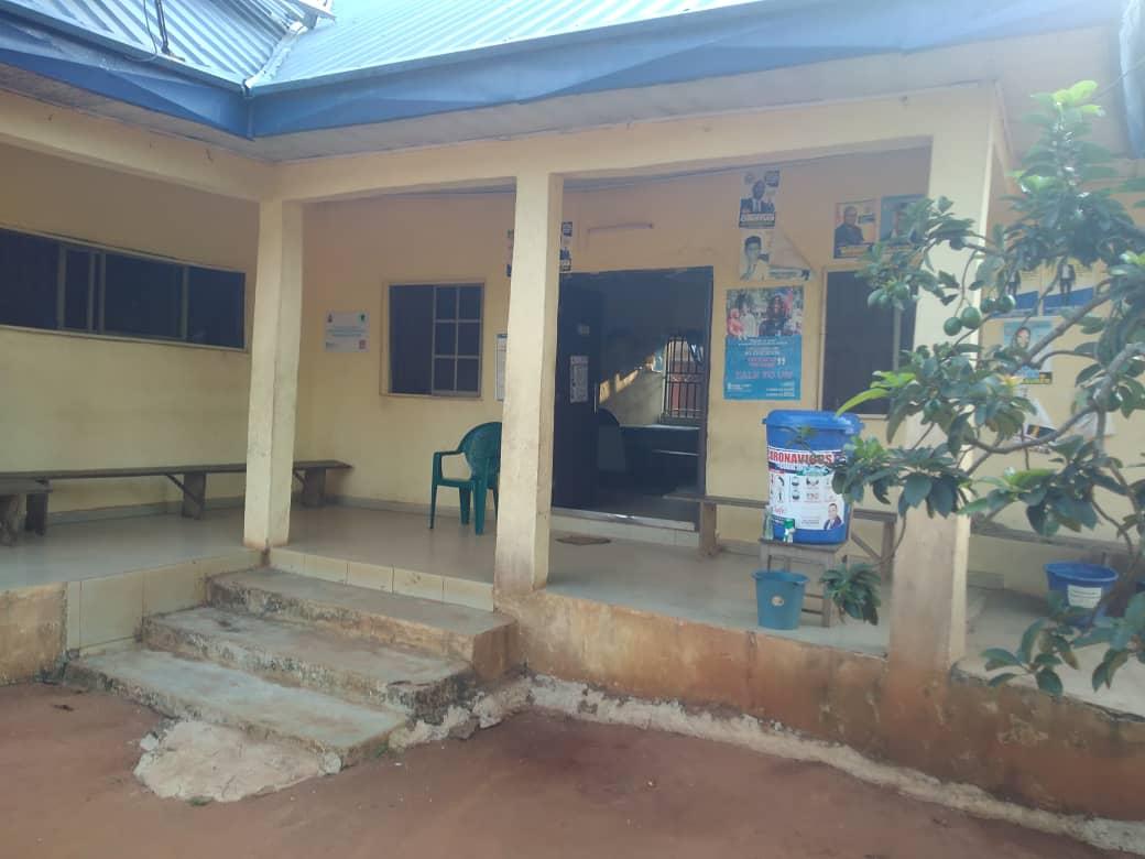 Primary Health Center at Idumesah village, Ikah North East LGA, Delta state