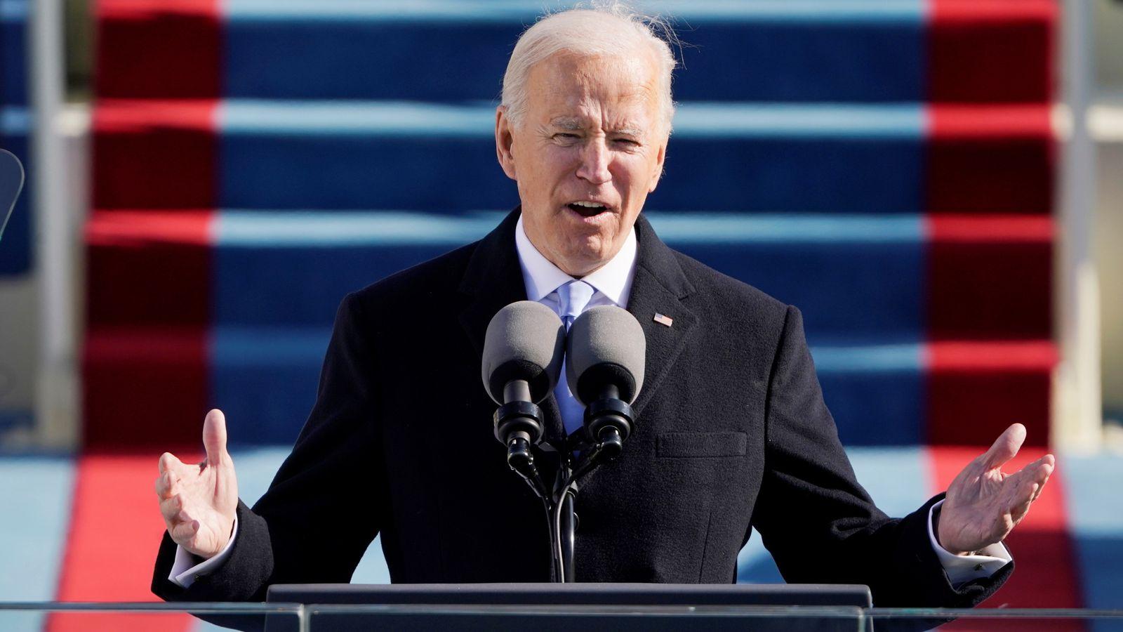 President of teh United States, Joe Biden. [PHOTO CREDIT: Twitter handle of Piers Morgan]