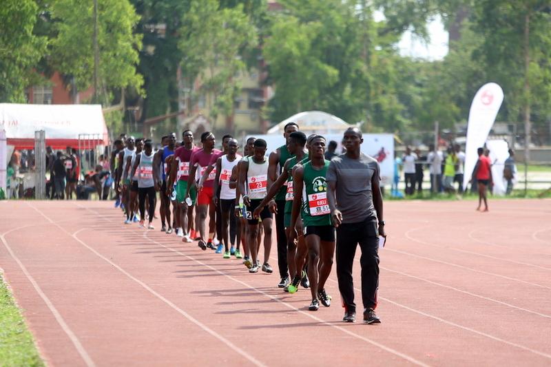 Men's 4x100m at 1st MoC Grand Prix