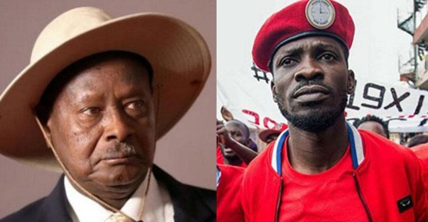 Yoweri Museveni and Bobi Wine [Photo Credit: Nile Post]