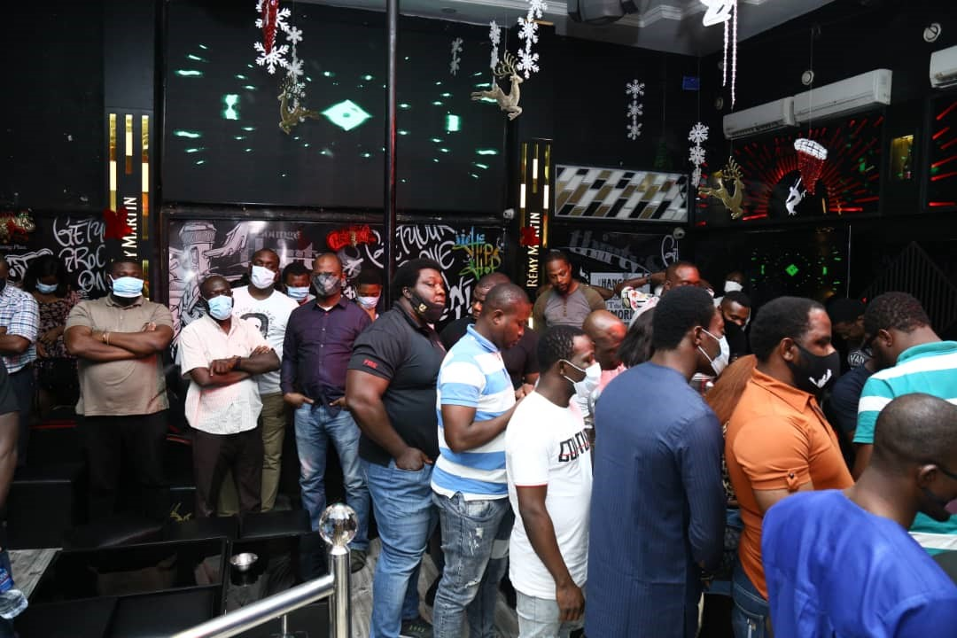 Police Arrest Nightclub Fun Seekers