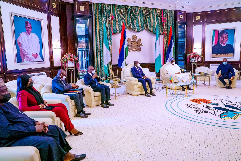 President Muhammadu Buhari earlier received President of Benin Republic, H.E. Patrice Talon at the State House, Abuja.