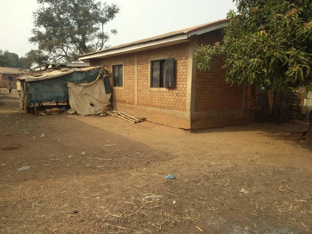 A block of apartment for Alheri residents constructed in 2006 during president Olusegun Obasanjo regime.