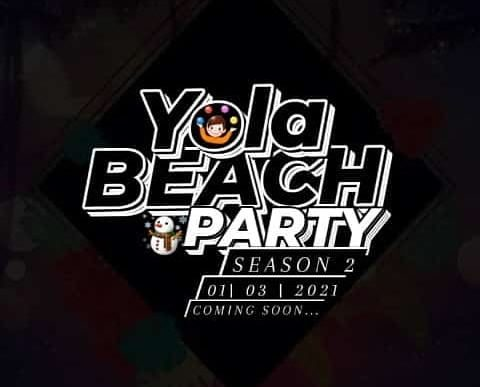 Yola Beach Party banner