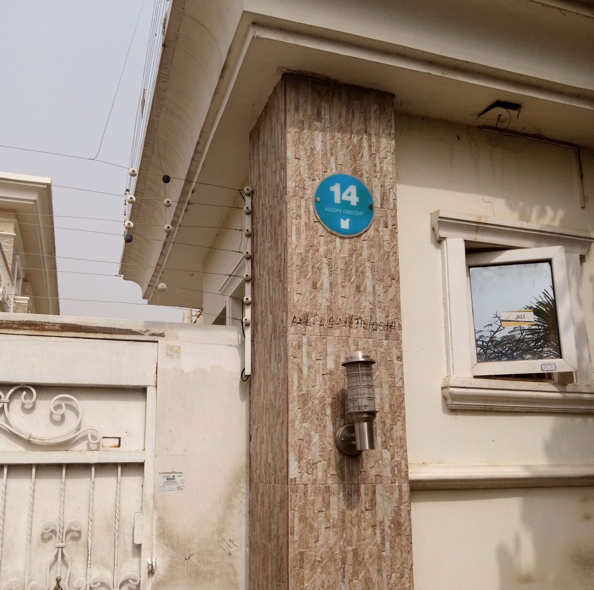 14 Adzope Crescent, Wuse II,was forfeited by Mr Badeh