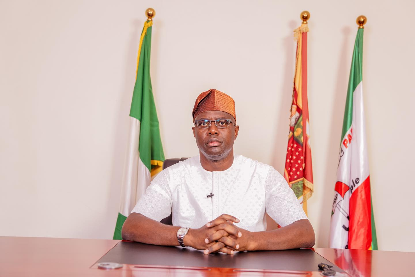 Governor, Seyi Makinde of Oyo State [PHOTO CREDIT: @OfficialSeyiMakinde]