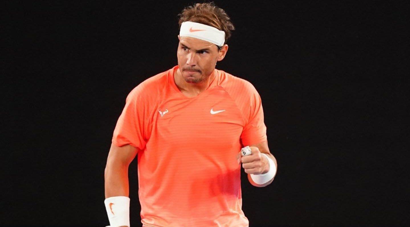 Rafael Nadal [PHOTO CREDIT: @Nadal]