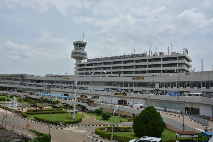 The Murtala Mohammed International Airport, Lagos