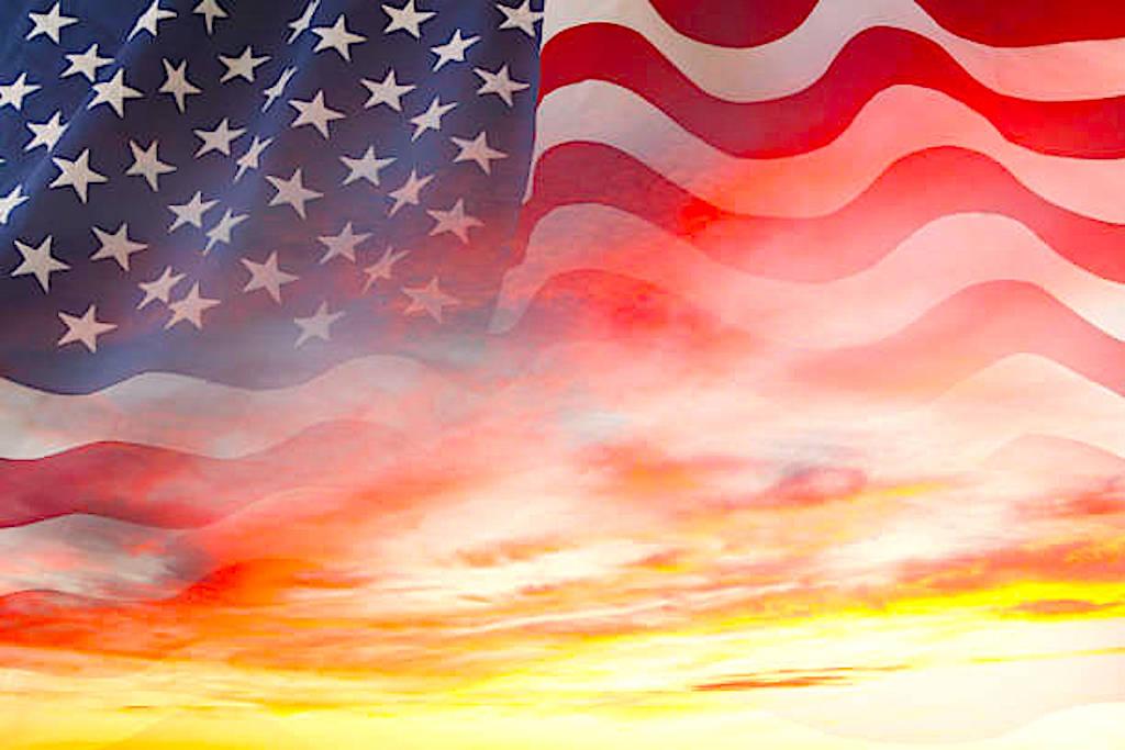 America at Sunset