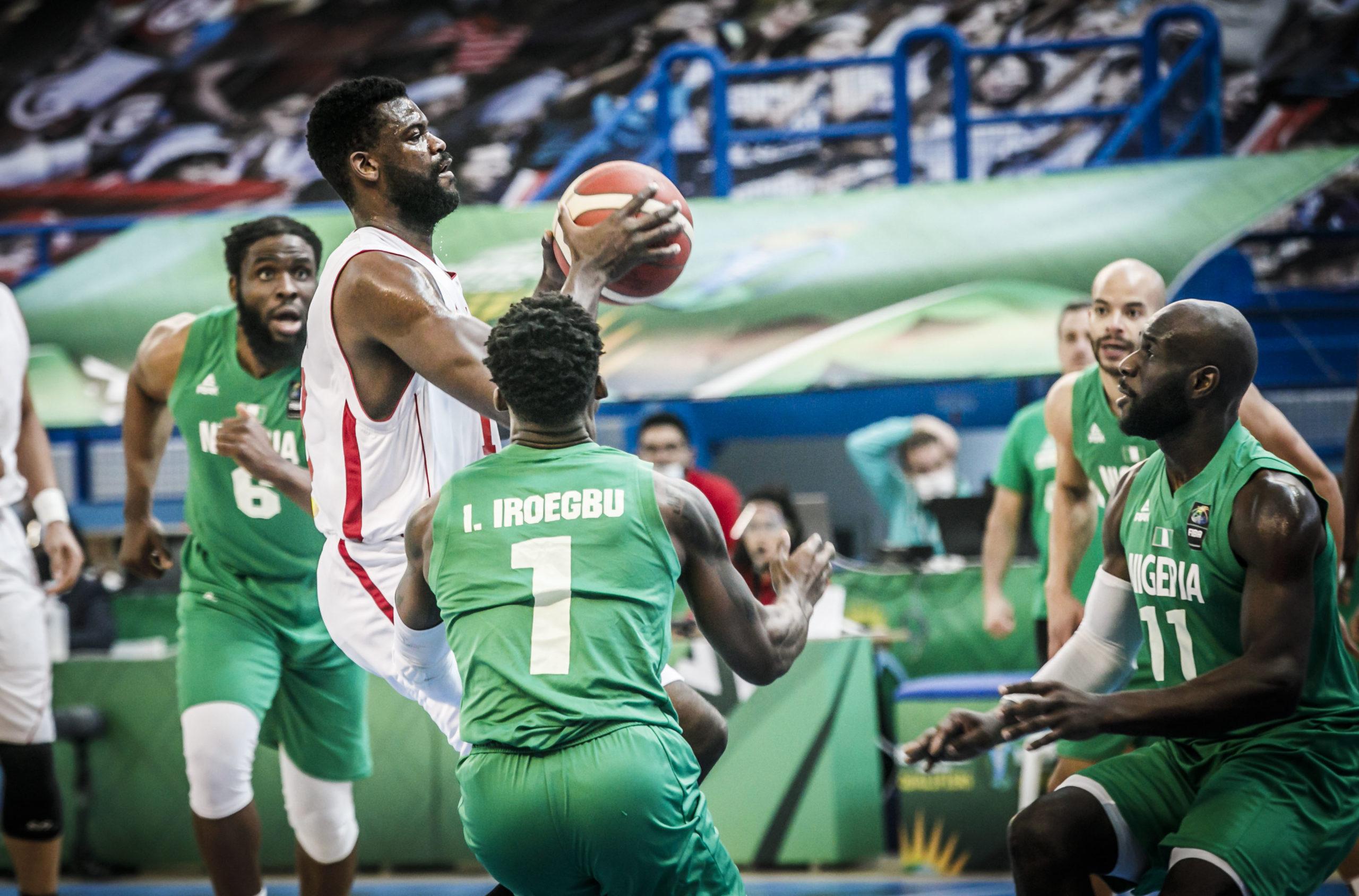 The Nigeria national men's basketball team, D'Tigers [PHOTO CREDIT: @AfroBasket]