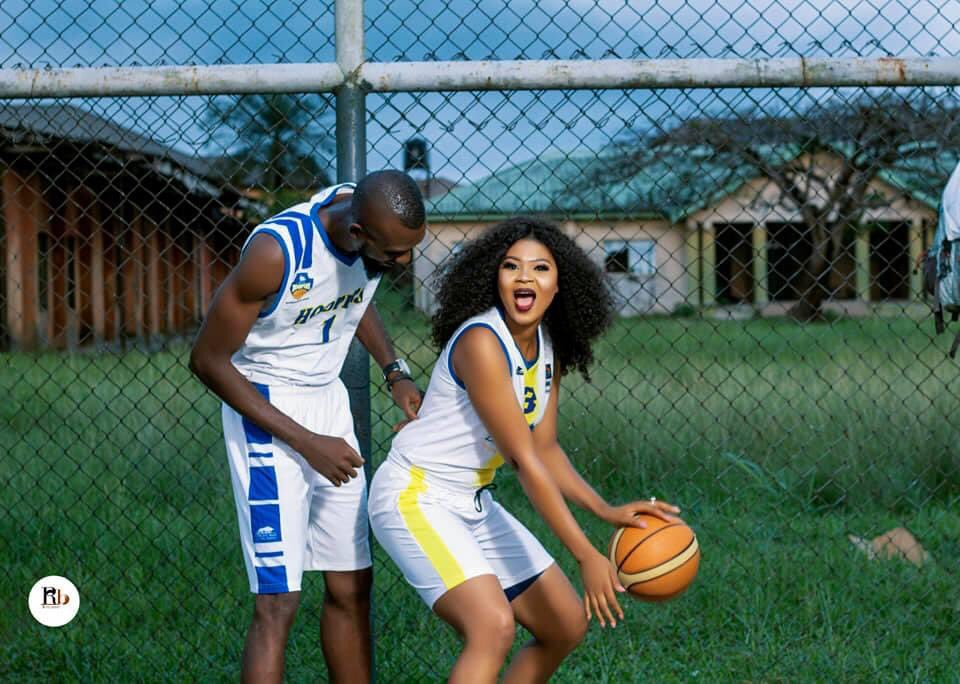 Joy Osayanmona and Hubby