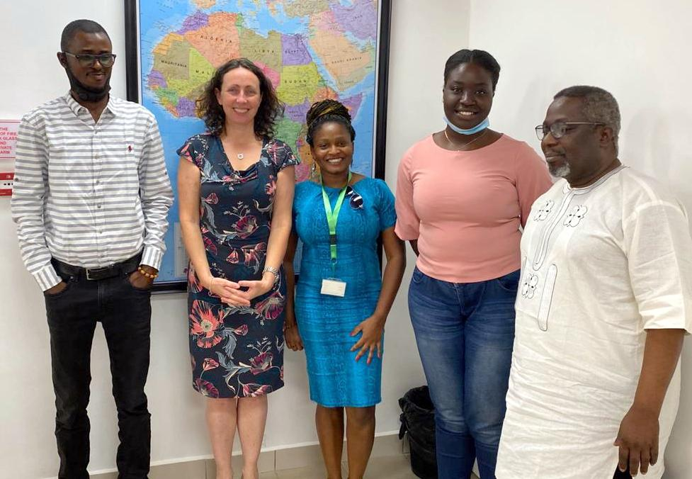 PREMIUM TIMES, Publisher Dapo Olorunyomi with Premium Times Reporters and outgoing Australian High Commissioner