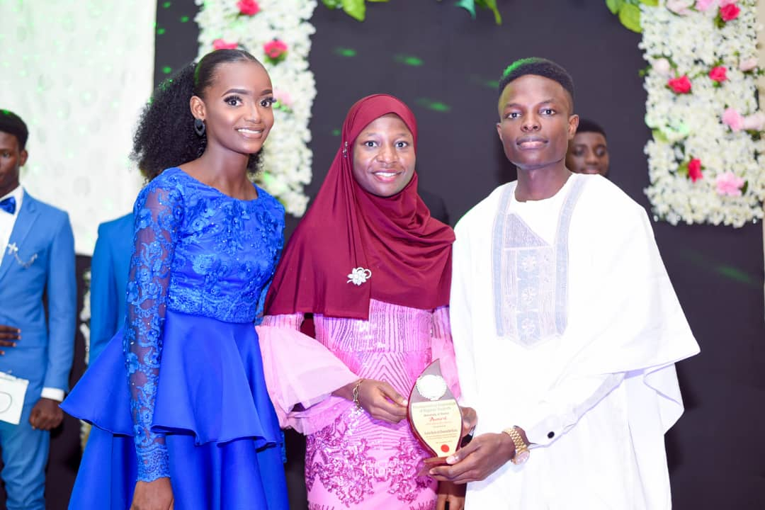 Ms Rufai awarded as one of the most outstanding students in academics by JCI