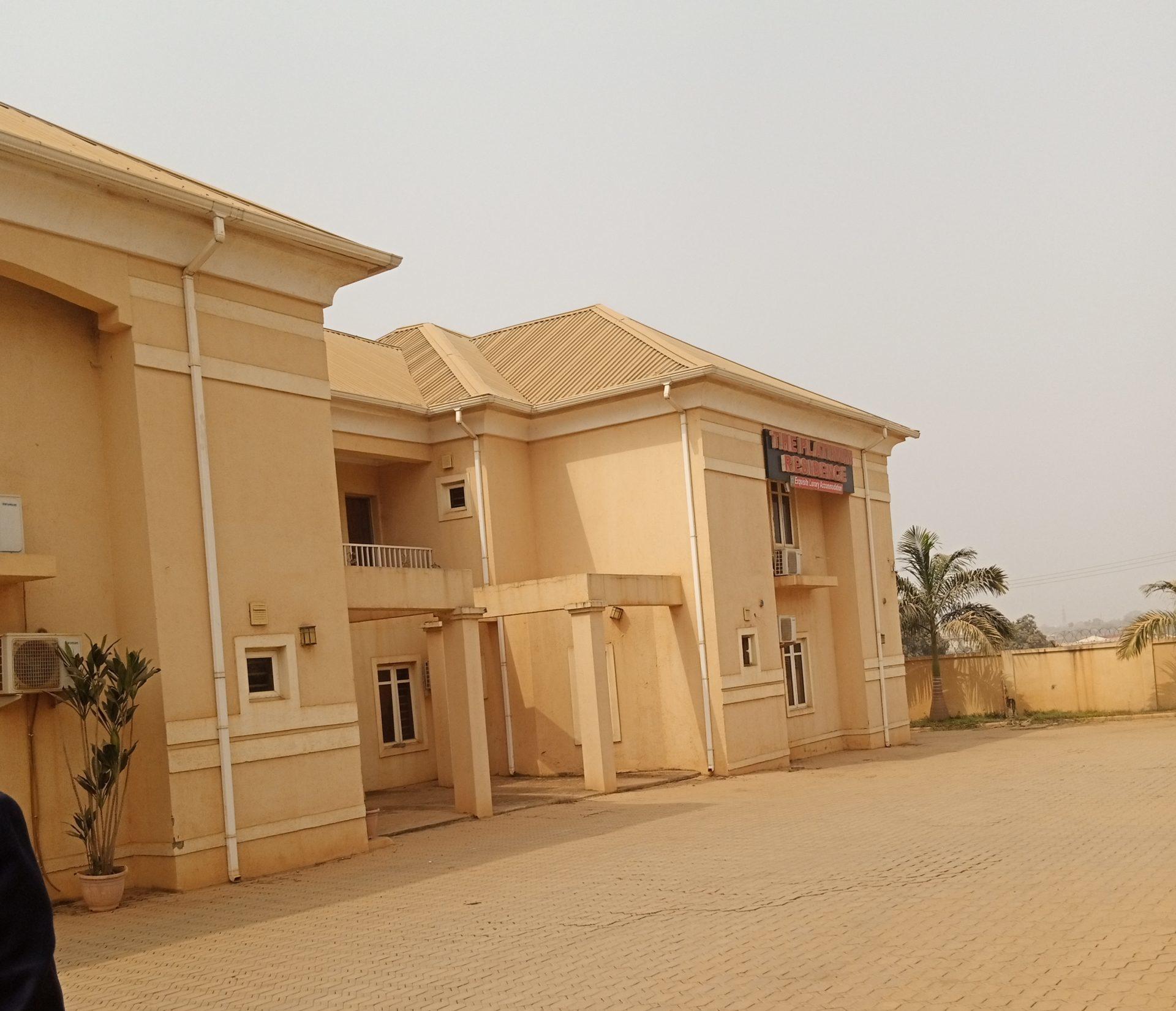 Premises of Platinum Residence Hotel in Galadimawa,Abuja