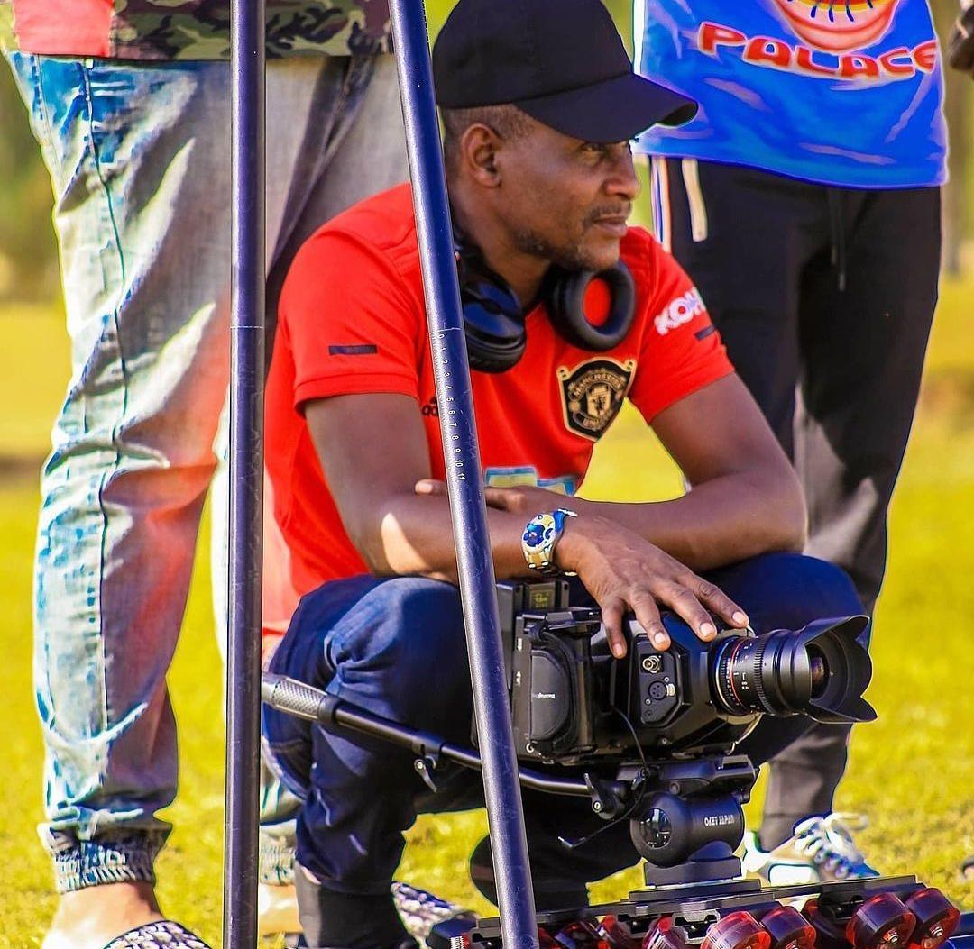 Murtala Balala, Cinematographer/camera during the recording of Labarina movie series