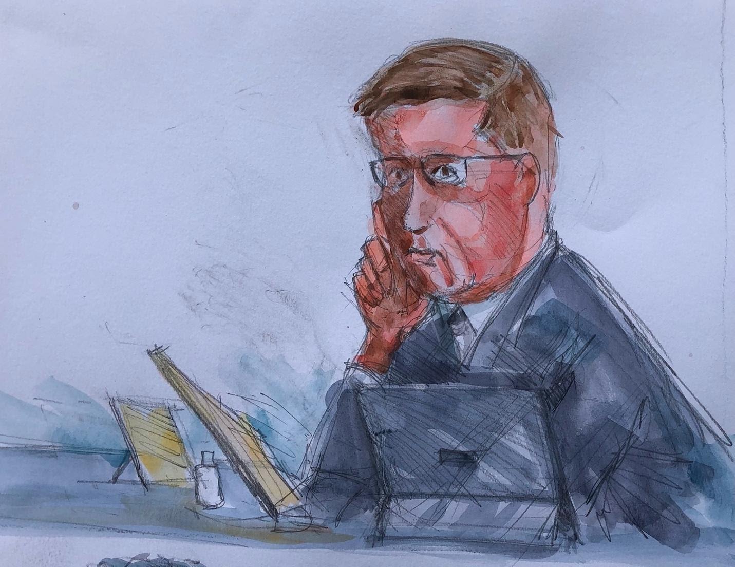Defense lawyer Kaarle Gunmerus Leslie Lumeh/New Narratives