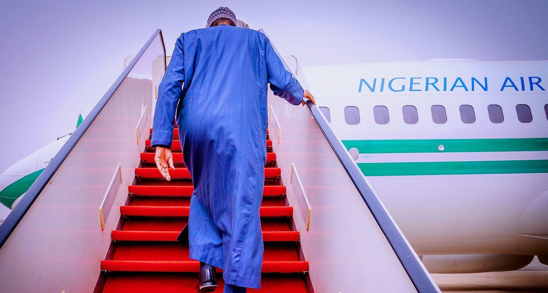 Buhari departs Abuja for London for medical check-up