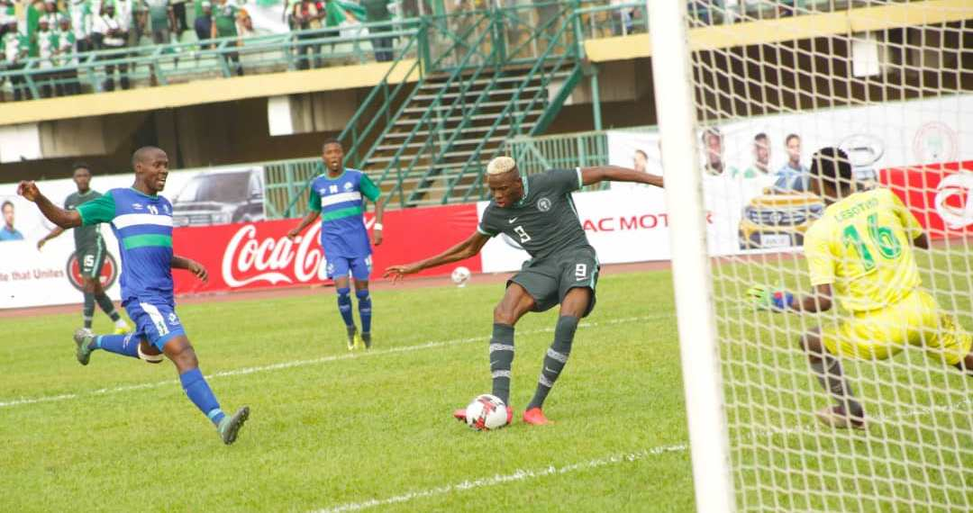 AFCON Qualifiers: Super Eagles cruise to 3-0 victory over Lesotho