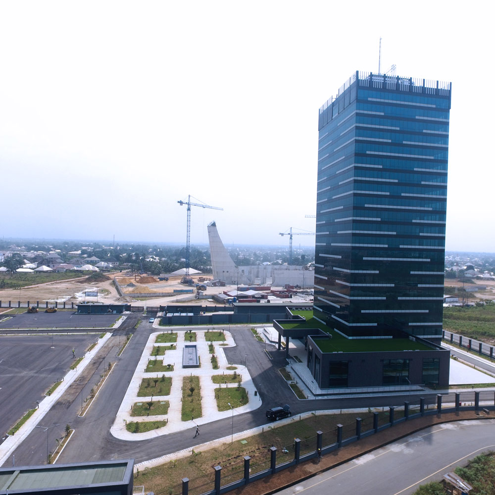 High rise building in Uyo built by VKS