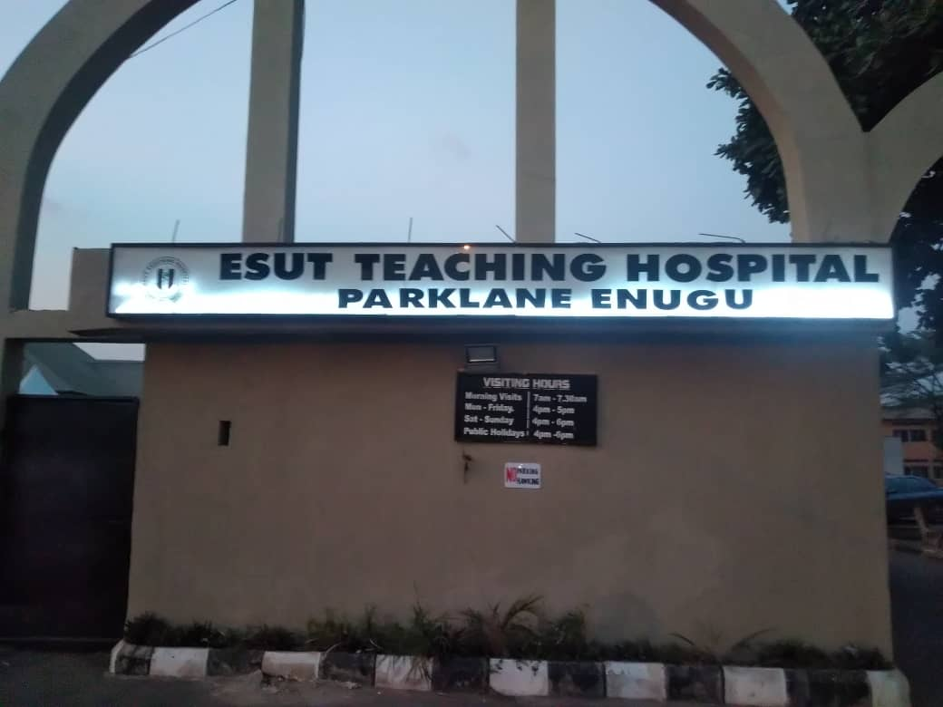 Enugu State University Teaching hospital, 'Park Lane'.