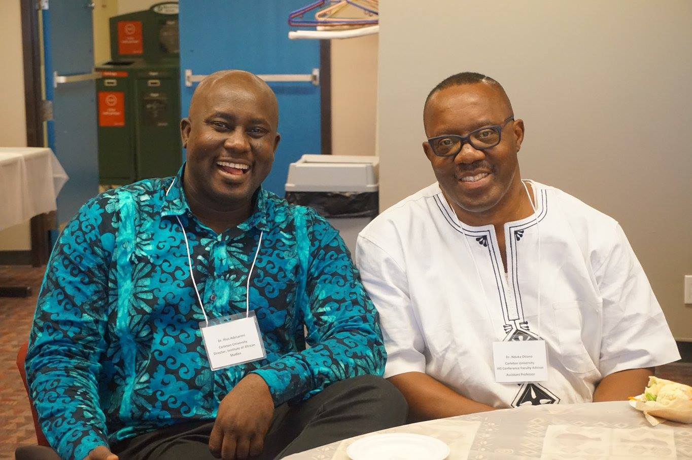 Pius Adesanmi and Nduka Otiono