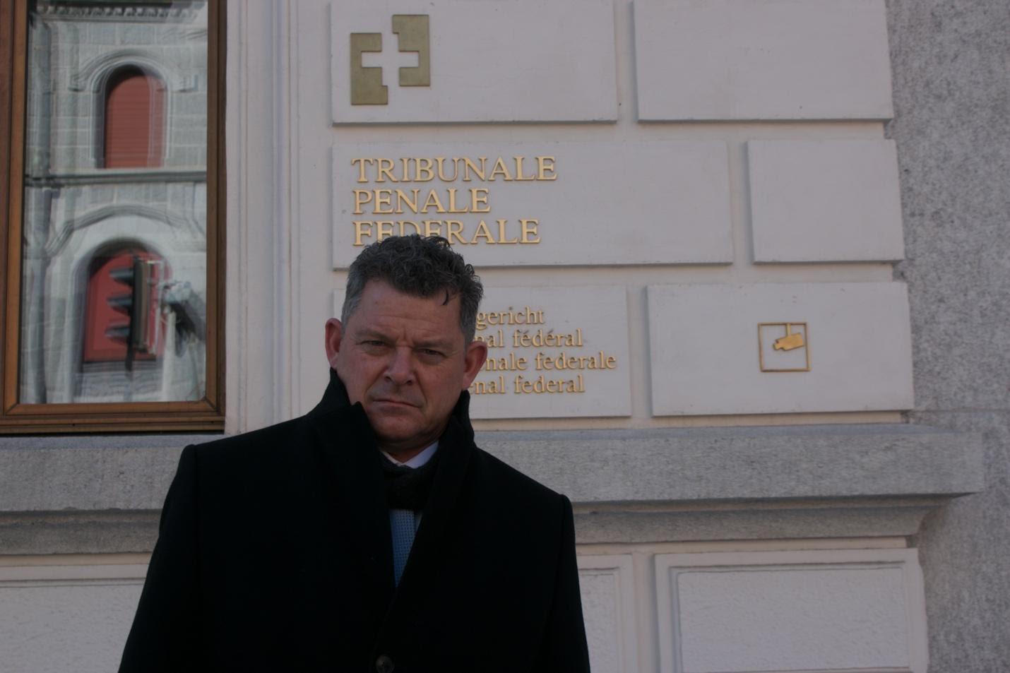Alieu Kosiah's lawyer Dmitri Gianoli. New Narratives/James Harding Giahyue