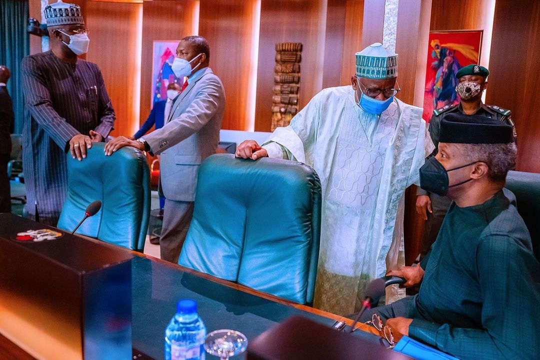 Buhari presides National Security Council Meeting