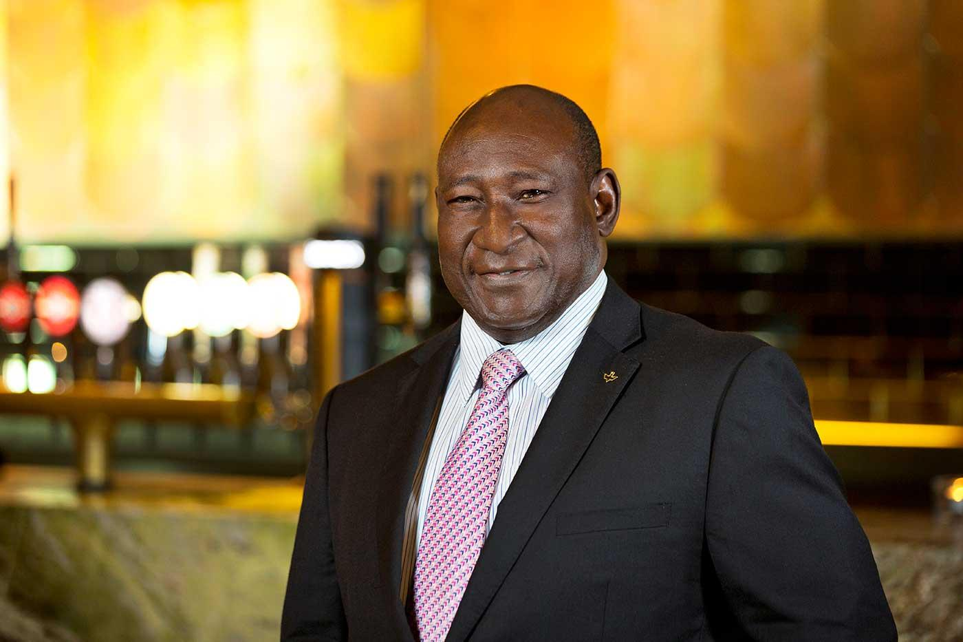 Babatunde Savage, outgoing chair of Guinness Nigeria Plc