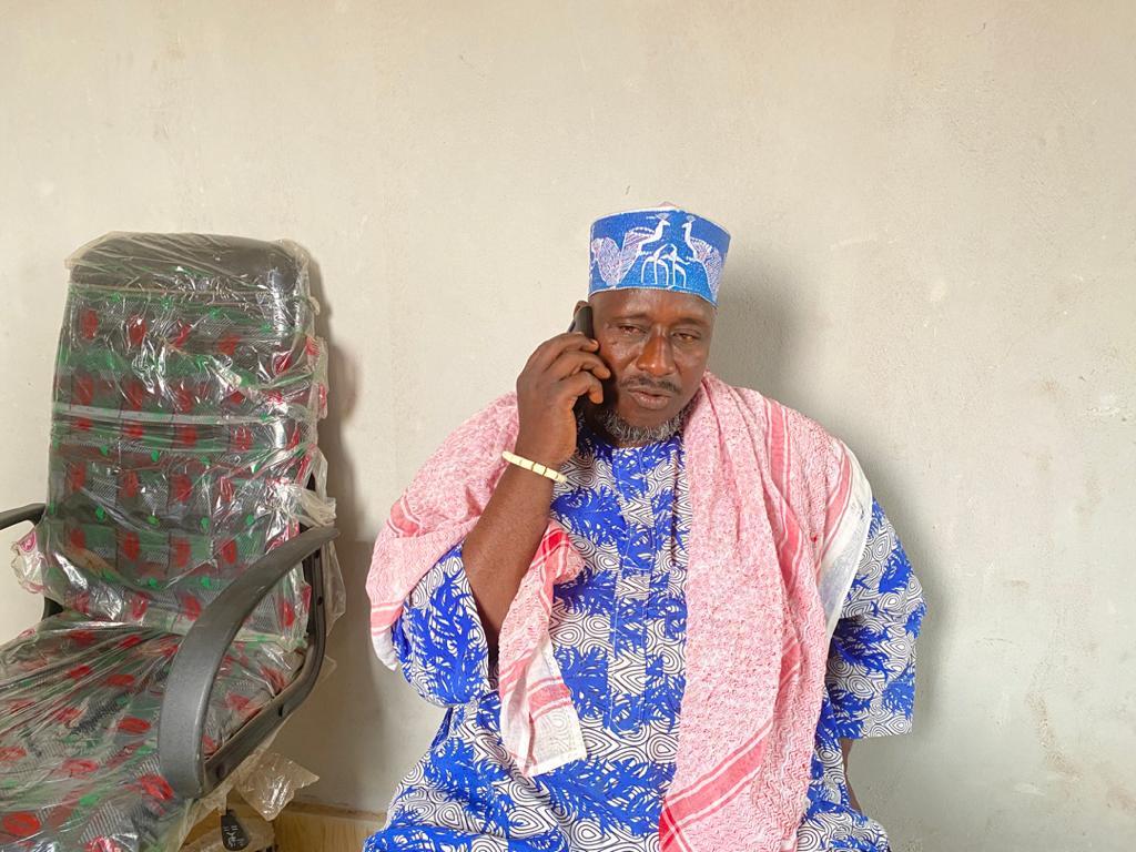 Adam Abubakar, a leader of Fulani settlement in Imeko Afon LGA