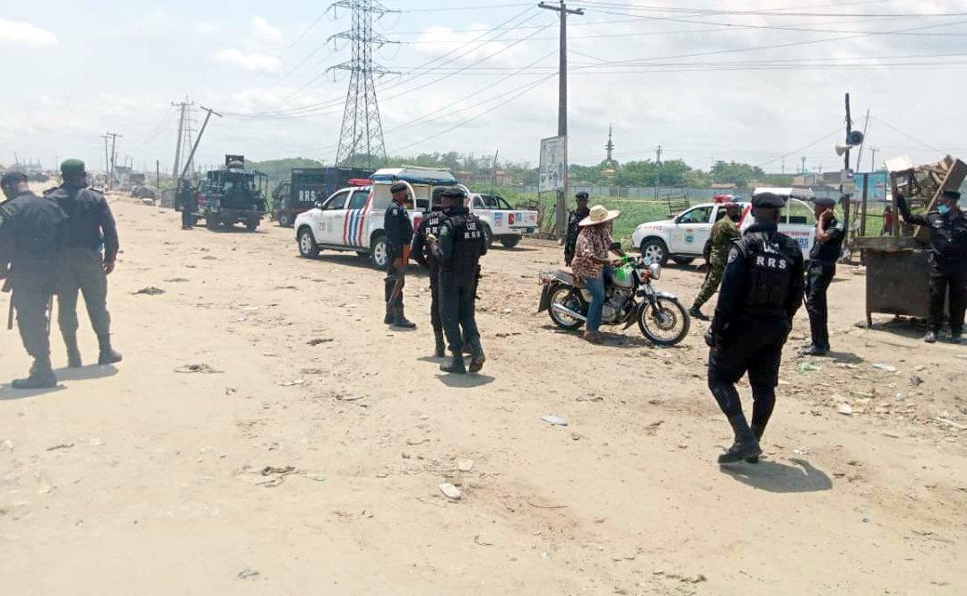 Commuters stranded, shops locked as Okada riders, NURTW clash in Lagos