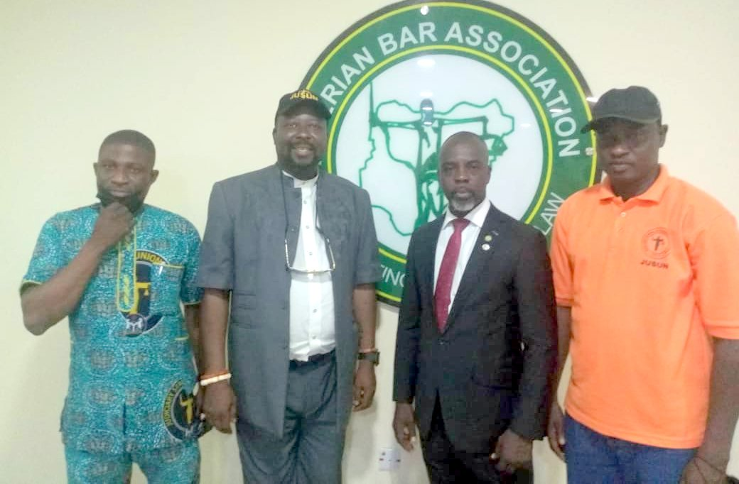 Meeting of Judiciary workers' with NBA