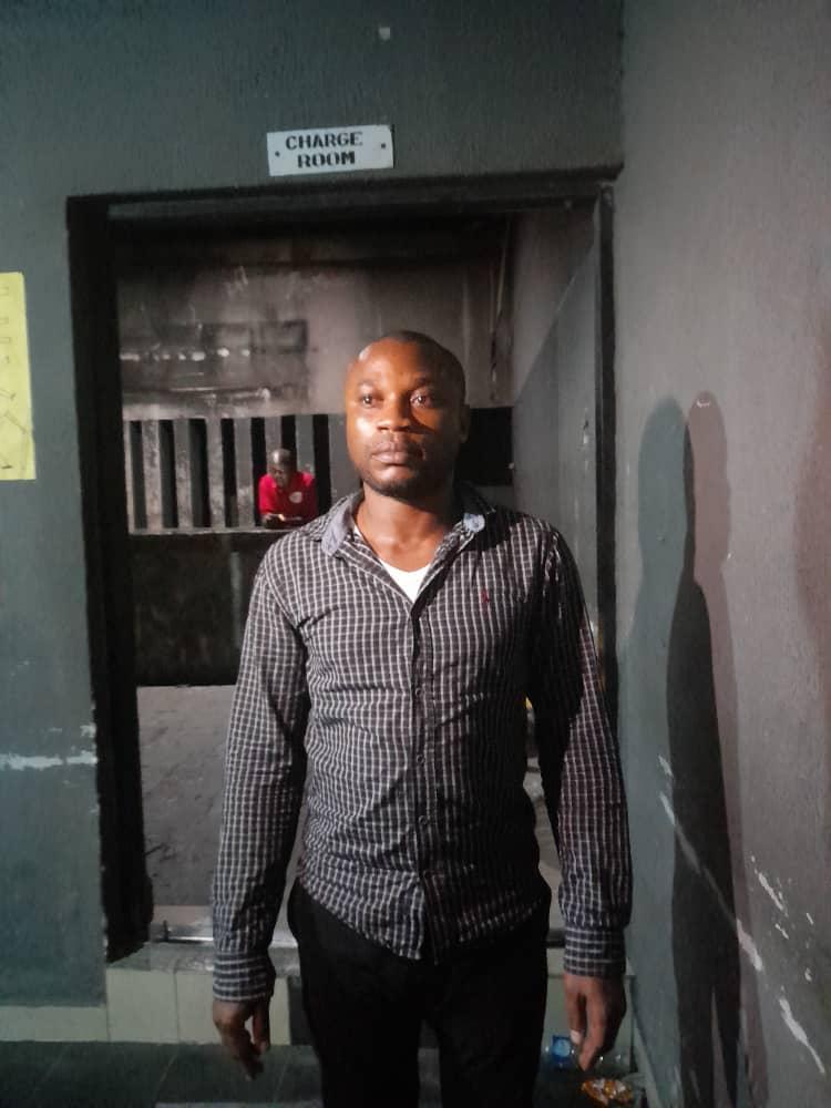 Anthony Ikpeama, the suspect