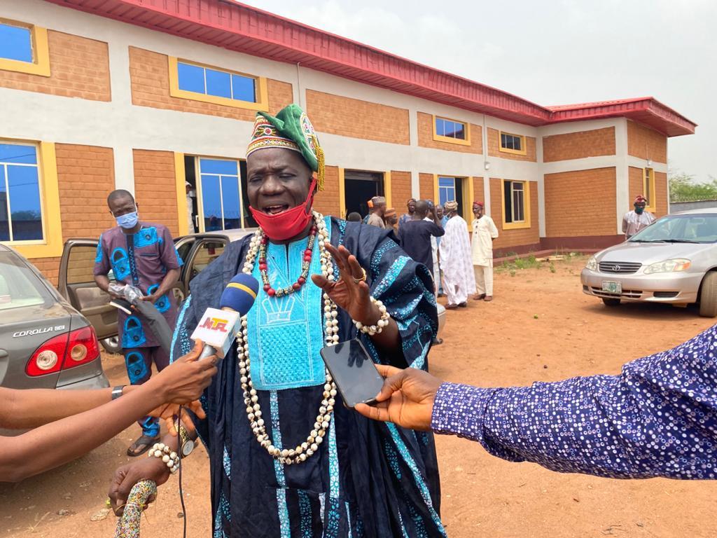 Kabiyesi of Iwoye Kutu, Imeko Afon, LGA, Oba Joel Ademola