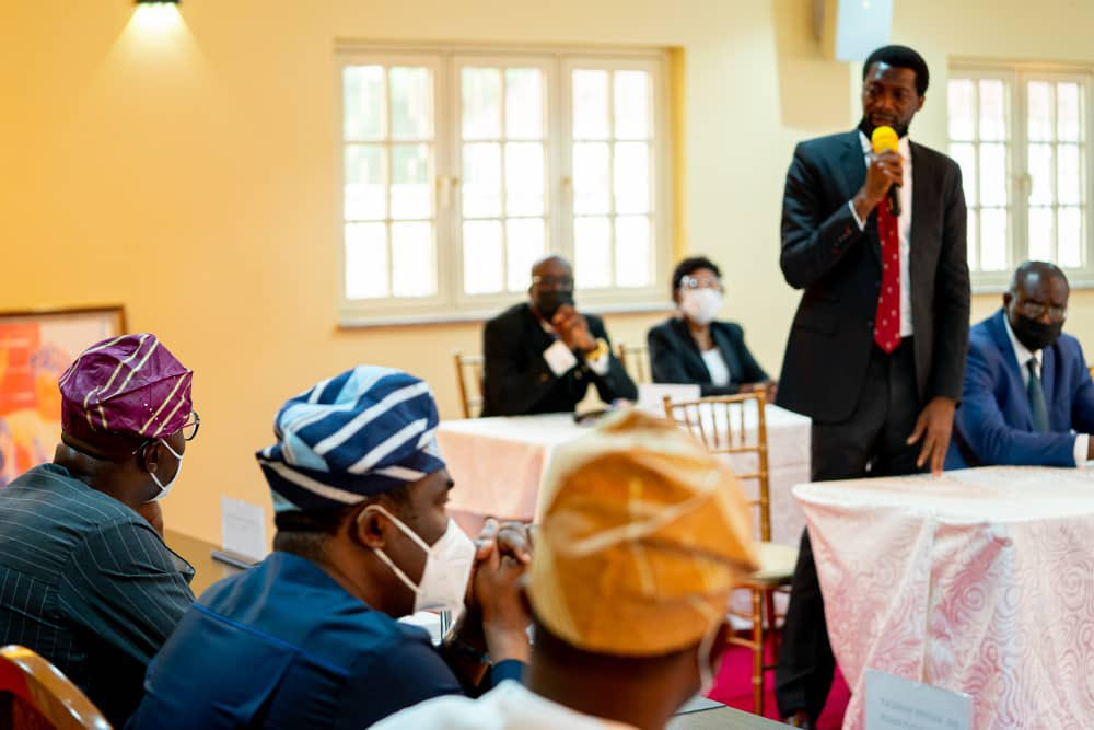 NBA Lagos Chairman, addressing Gov Babajide Sanwo-Olu