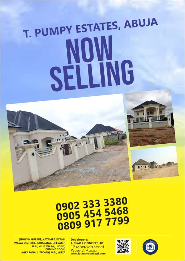 Easter: T Pumpy slashes prices of land in Abuja