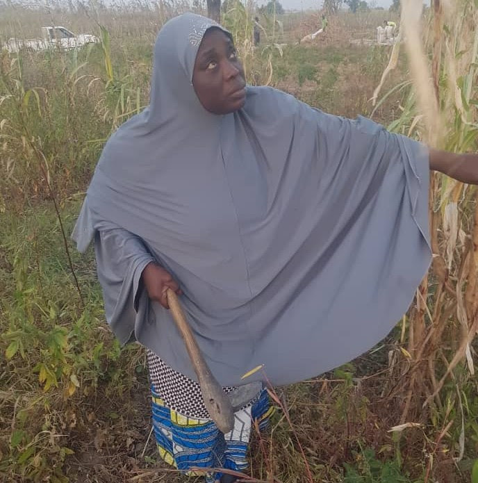 Zainab believes Nigeria faces an imminent food crisis if the problem of climate change and insecurity are not addressed