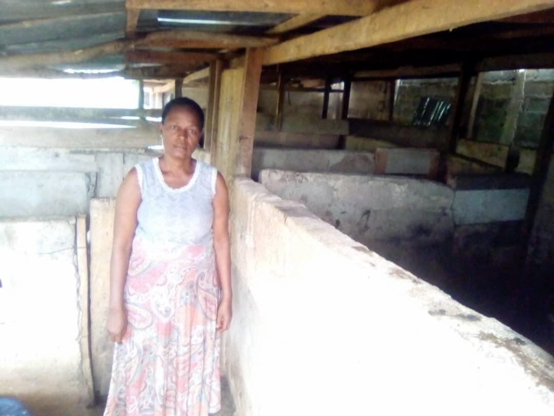 Josephine Malokwu, 51, is a smallholder farmer.