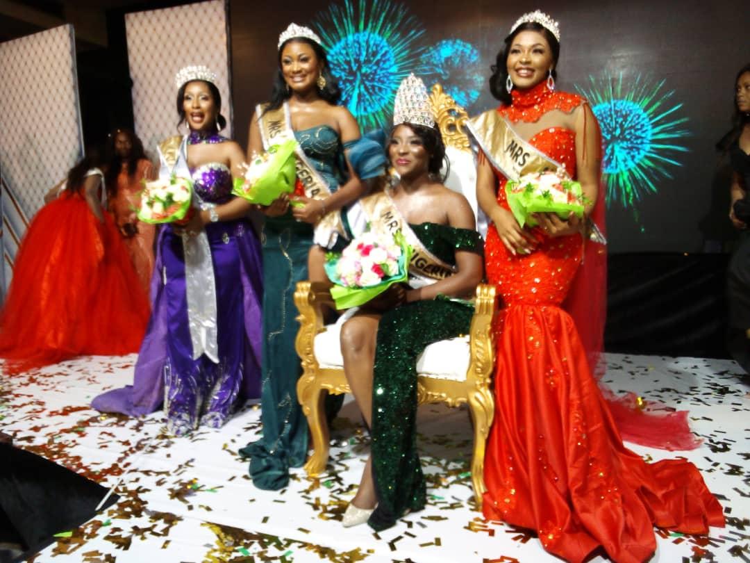 Mrs Nigeria 2021 winner