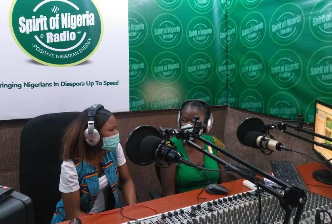 Spirit of Nigeria Radio hosts